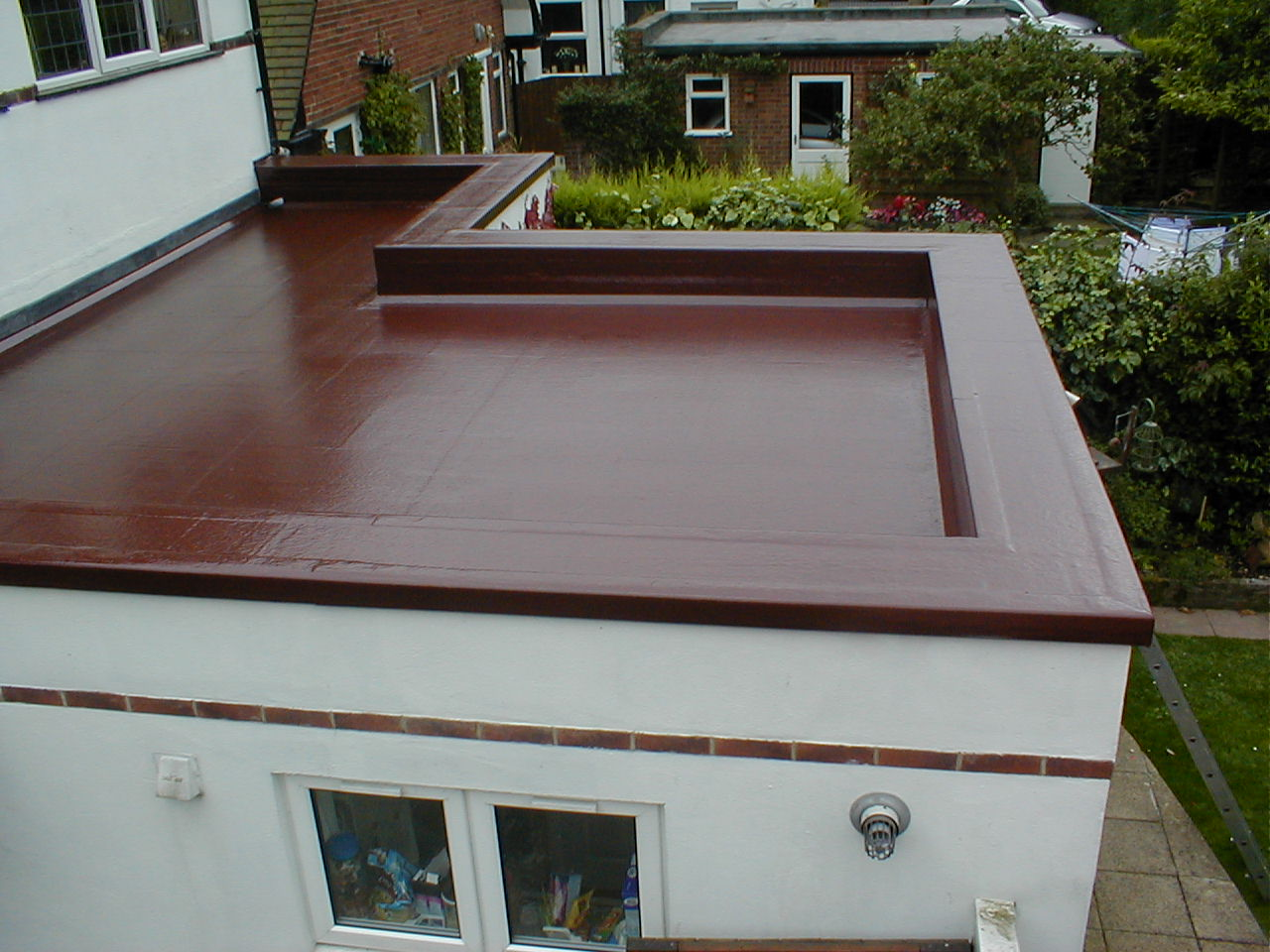 Repaired Flat Roof